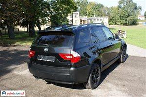 BMW X3 2005 2.0 150 KM
