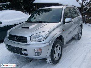 Toyota RAV-4 2.0 2003 r.,   24 000 PLN