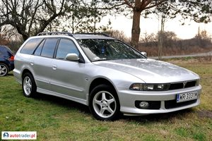 Mitsubishi Galant 2.5 2002 r. - zobacz ofertę