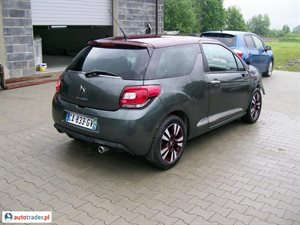Citroen DS3 2012 1.6 90 KM
