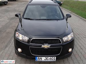 Chevrolet Captiva 2.4 2012 r. - zobacz ofertę
