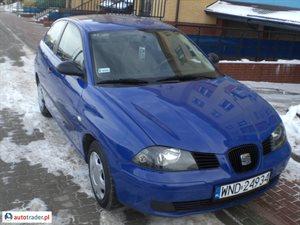 Seat Ibiza 1.4 2002 r.,   9 300 PLN
