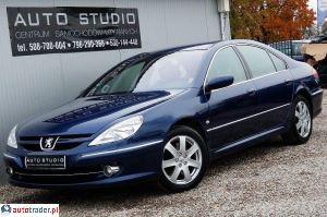 Peugeot 607 2006 2.2 163 KM