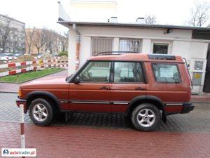 Land Rover Discovery 2.5 1999 r. - zobacz ofertę