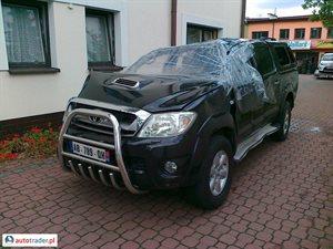 Toyota Hilux 3.0 2009 r. - zobacz ofertę