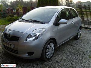 Toyota Yaris 1.4 2007 r. - zobacz ofertę