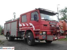 Scania P 82 M Straż, strażacki, specjalny 1982r. - zobacz ofertę