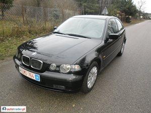 BMW 316, 2002r. - zobacz ofertę