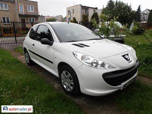 Peugeot 206 1.4 2010 r. - zobacz ofertę
