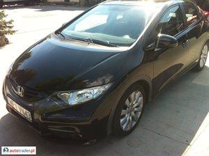 Honda Civic 1.8 2012 r.,   53 800 PLN