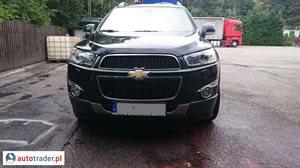 Chevrolet Captiva 2.2 2012 r. - zobacz ofertę