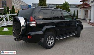 Toyota Land Cruiser 3.0 2007 r. - zobacz ofertę
