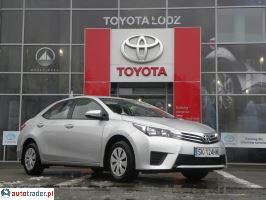 Toyota Corolla 1.6 2015r. - zobacz ofertę