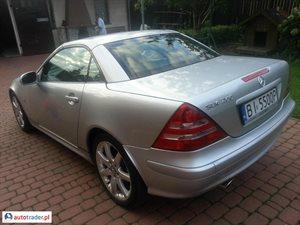 Mercedes SLK 200 2.0 2003 r. - zobacz ofertę
