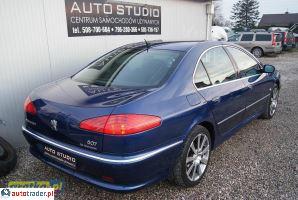 Peugeot 607 2006 2.7 204 KM