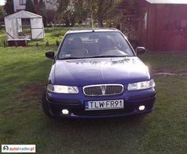 Rover 400 1.6 1998 r. - zobacz ofertę