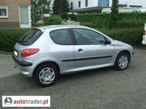 Peugeot 206 1.9 2002 r. - zobacz ofertę