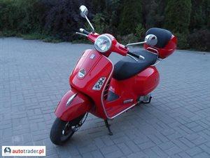 Piaggio Vespa 250 2009 r.,   13 900 PLN
