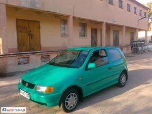 Volkswagen Polo 1.0 1998 r.,   3 900 PLN
