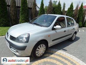 Renault Thalia 1.4 2004 r. - zobacz ofertę