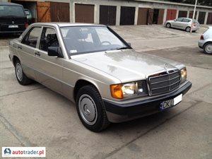 Mercedes W-201 (190) 2.0 1988 r. - zobacz ofertę