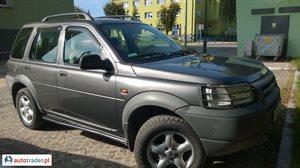 Land Rover Freelander, 2002r. - zobacz ofertę