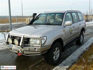 Toyota Land Cruiser 4.2 2001 r. - zobacz ofertę