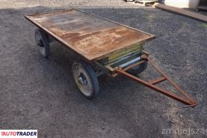 Wózek transportowy platformowy czterokołowy 100x200 cm W 64 cm - zobacz ofertę
