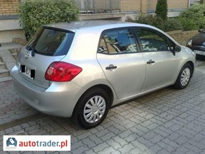 Toyota Auris 1.4 2008 r.,   28 500 PLN