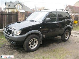 Nissan Terrano 2.7 2001 r. - zobacz ofertę