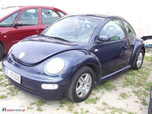 Volkswagen New Beetle 2.0 1999 r. - zobacz ofertę