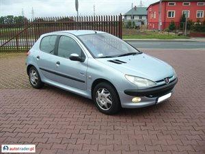 Peugeot 206 1.1 2002 r. - zobacz ofertę