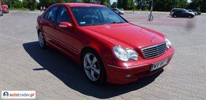 Mercedes C-klasa C 270 2.7 2003 r.,   17 000 PLN
