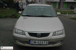 Mazda 626 2.0 2001 r. - zobacz ofertę