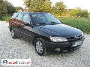 Peugeot 306 1.9 1999 r. - zobacz ofertę