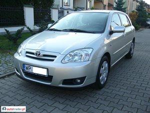 Toyota Corolla 1.4 2005 r. - zobacz ofertę