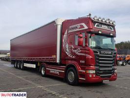 Scania R 560 V8  Topline E5 Reterder Opticruise ze sprzegłem+ Wielton - zobacz ofertę