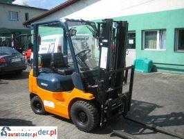 TOYOTA  42-7FGF15-wózek widłowy 2003r.,   29 000 PLN