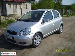 Toyota Yaris 1.0 2005 r. - zobacz ofertę