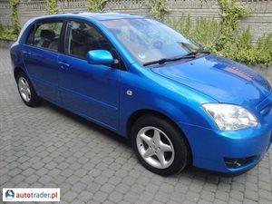 Toyota Corolla 1.4 2007 r. - zobacz ofertę