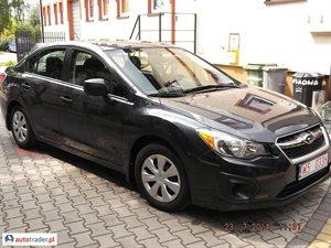 Subaru Impreza 2.0 2013 r. - zobacz ofertę