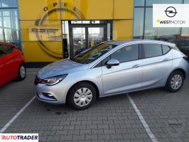 Opel Astra 2019 1.4 125 KM