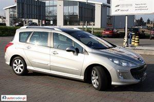 Peugeot 308 1.6 2008 r.,   26 600 PLN