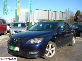 Mazda 3 2005 1.6 105 KM