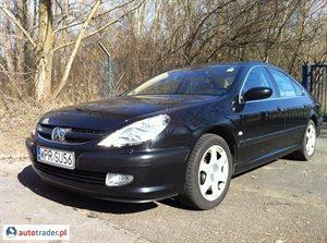 Peugeot 607 2.9 2004 r. - zobacz ofertę