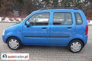 Opel Agila 1.2 2001 r. - zobacz ofertę