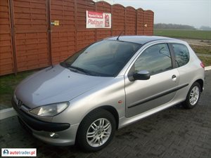 Peugeot 206 1.4 1998 r. - zobacz ofertę