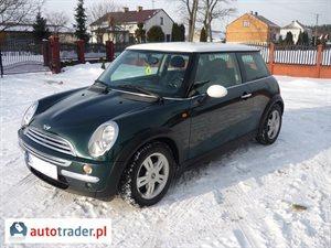 Mini Cooper 2005 1.4 88 KM