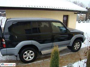 Toyota Land Cruiser 3.0 1999 r. - zobacz ofertę