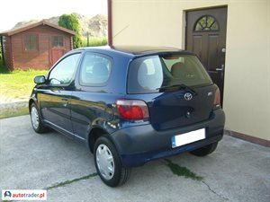 Toyota Yaris 2002 1.0 68 KM